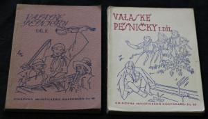 náhled knihy - Vałaské pěsničky. I. a II. díl