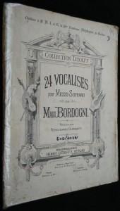 náhled knihy - 24 Vocalises pour Mezzo-Soprano