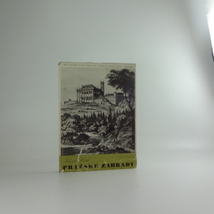náhled knihy - Umělecké památky Pražské zahrady