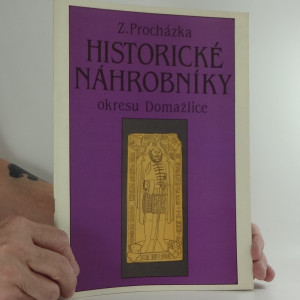náhled knihy - Historické náhrobníky okresu Domažlice
