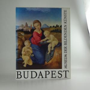 náhled knihy - Budapest museum der Bildenden Kunste