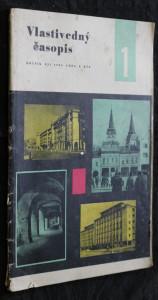 náhled knihy - Vlastivedný časopis 1/1963