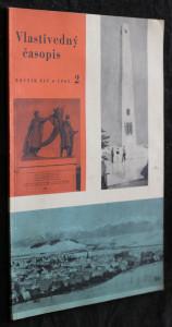náhled knihy - Vlastivedný časopis 2/1965