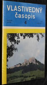 náhled knihy - Vlastivedný časopis 4/1979