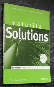 náhled knihy - Maturita Solutions Elementary. Učebnice, pracovní sešit.