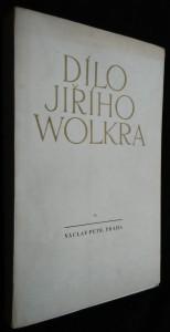 náhled knihy - Dílo Jiřího Wolkra 1.sv