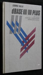 náhled knihy - dBASE III/III PLUS