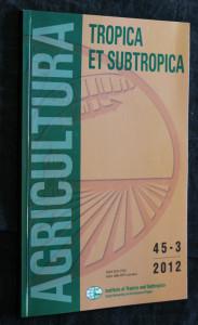 náhled knihy - Agricultura tropica et subtropica