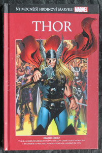 náhled knihy - Thor: Thor a kamenní lidé ze Saturnu, Thor a Rangarök (Marvel)