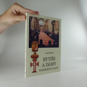 náhled knihy - Rytíři a dámy papežských řádů