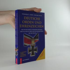 náhled knihy - Deutsche Orden und Ehrenzeichen