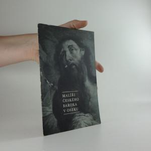náhled knihy - Malíři českého baroka v Oseku