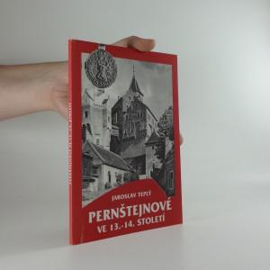 náhled knihy - Pernštejnové ve 13.-14. století