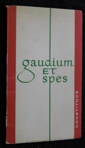 náhled knihy - Gaudium et spes = Radost a naděje : pastorální konstituce o církvi v dnešním světě Radost a naděj