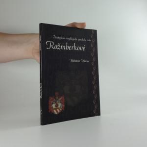 náhled knihy - Rožmberkové : životopisná encyklopedie panského rodu