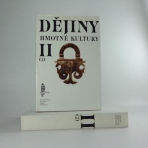náhled knihy - Dějiny hmotné kultury 2sv
