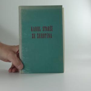 náhled knihy - Karel starší ze Žerotína
