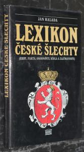 náhled knihy - Lexikon české šlechty : erby, fakta, osobnosti, sídla a zajímavosti. [Díl 1]