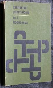 náhled knihy - Technická psychologie