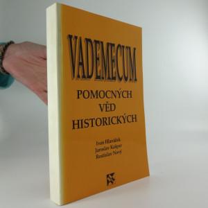 náhled knihy - Vademecum pomocných věd historických