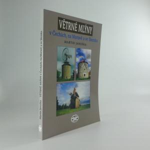náhled knihy - Větrné mlýny v Čechách, na Moravě a ve Slezsku