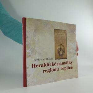 náhled knihy - Heraldické památky regionu Teplice