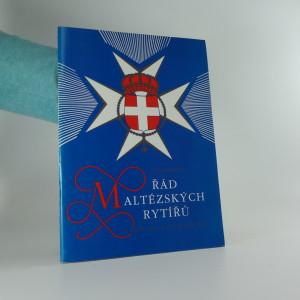 náhled knihy - Suverénní řád maltézských rytířů v historii a současnosti