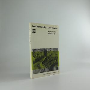 náhled knihy - Levý Hradec - Nejstarší sídlo Přemyslovců - BORKOVSKÝ Ivan