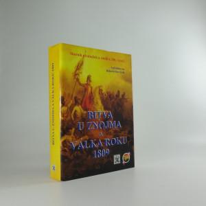 náhled knihy - Bitva u Znojma a válka roku 1809 : sborník dokumentů a studií k 200. výročí