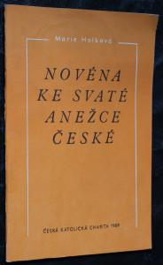 náhled knihy - Novéna ke svaté Anežce České