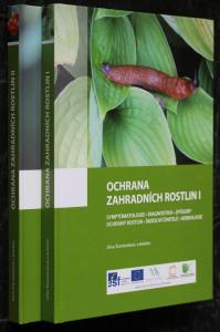 náhled knihy - Ochrana zahradních rostlin I a II