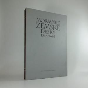 náhled knihy - Moravské zemské desky 1348 - 1642