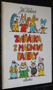 náhled knihy - Zvířátka z Malinové paseky : pro děti od 4 let