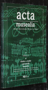 náhled knihy - Acta musealia Muzea jihovýchodní Moravy ve Zlíně: IV, 2004/1-2