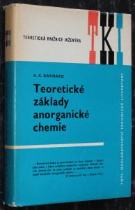 náhled knihy - Teoretické základy anorganické chemie