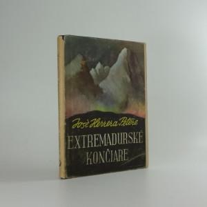 náhled knihy - Extremadurské končiare