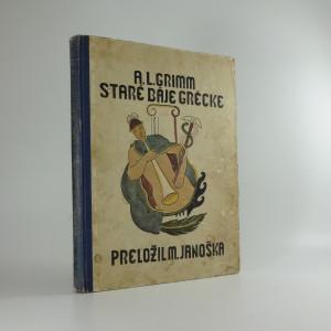 náhled knihy - Staré báje grécke. Diel II