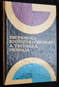 náhled knihy - Ekonomika knižného obchodu a technika predaja
