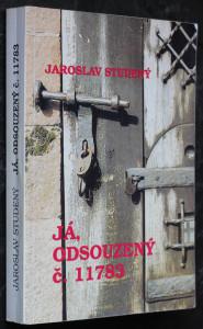 náhled knihy - Já, odsouzený číslo 11783 : (Dopisy z vězení r. 1972 - 1975)