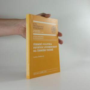 náhled knihy - Územní politika prvních Lucemburků na českém trůně