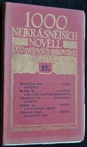 náhled knihy - 1000 nejkrásnějších novel, svazek 27.