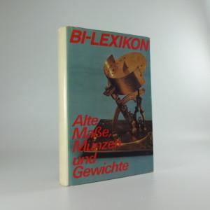 náhled knihy - Alte Masse, Münzen und Gewichte