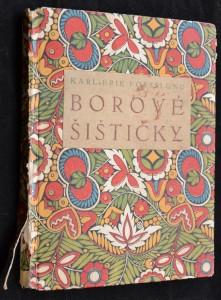 náhled knihy - Borové šištičky
