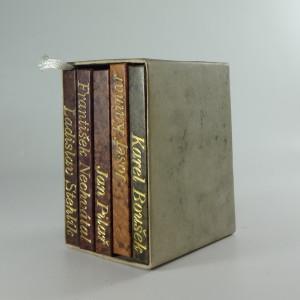 náhled knihy - Básně : výbor z poezie s autorovou předmluvou 5 svazků