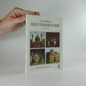 náhled knihy - Dějiny evropských zemí do roku 1946 : [příručka pro studenty]