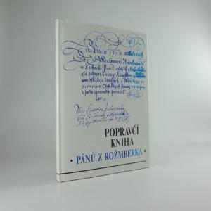 náhled knihy - Popravčí kniha pánů z Rožmberka