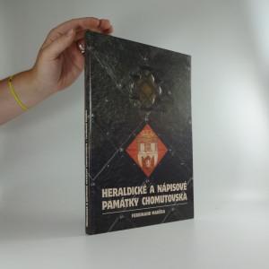 náhled knihy - Heraldické a nápisové památky Chomutovska