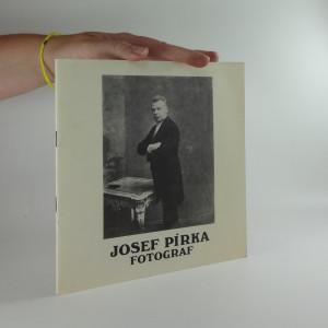 náhled knihy - Josef Pírka - fotograf