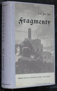 náhled knihy - Fragmenty. Díl třetíl