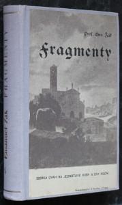 náhled knihy - Fragmenty. Díl šestý